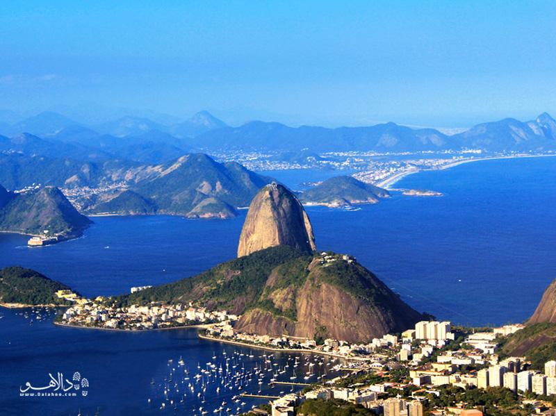 پائو دو آسوکار یا کوه کلهقندی در ریو دو ژانیرو