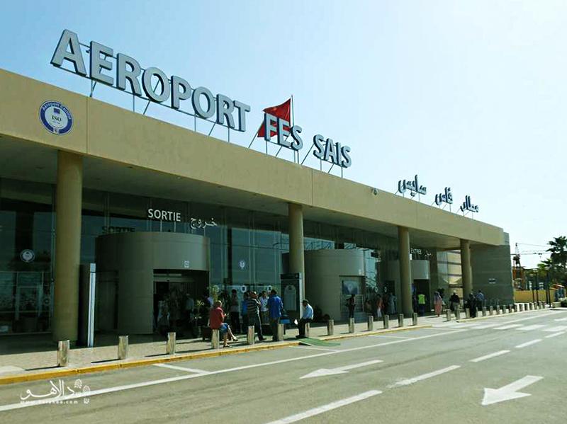 فرودگاه فس-سایس در شر فض، با 200 درهم میتوانید خود را به مرکز شهر برسانید.