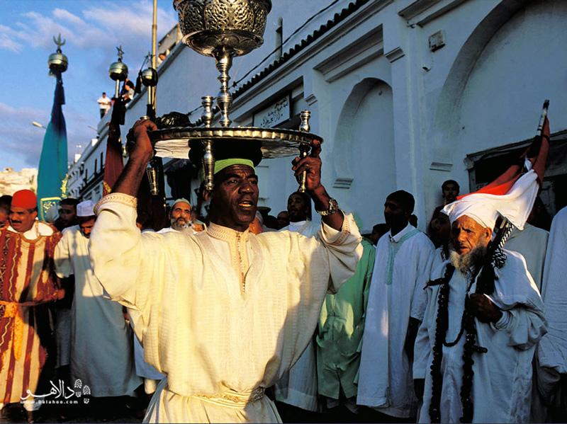 بزرگترین فستیوال مراکش در چشماندازهای سفیدرنگ مولای ادریس