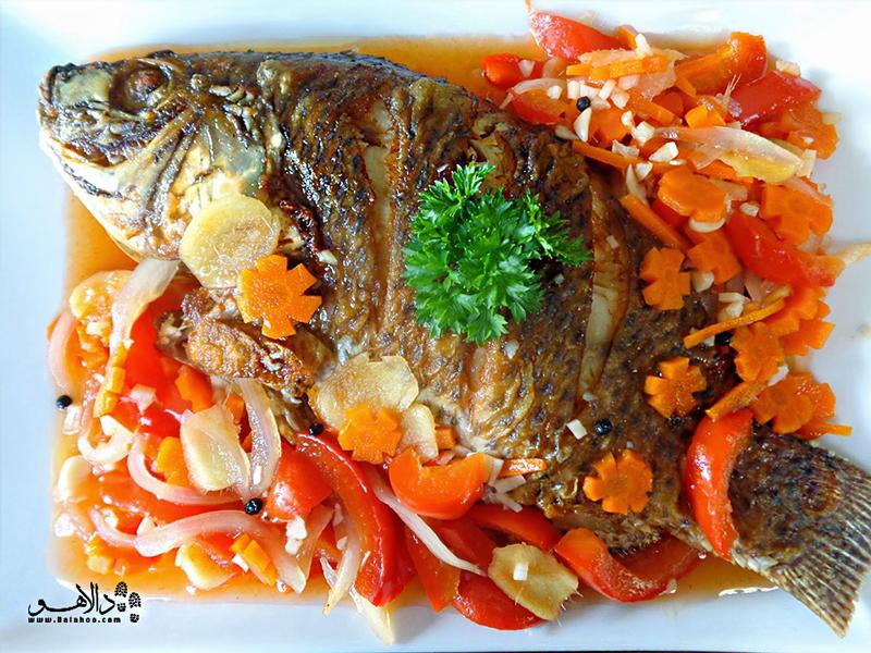 ماهی با سس مخصوص کوبایی را باید چشید.