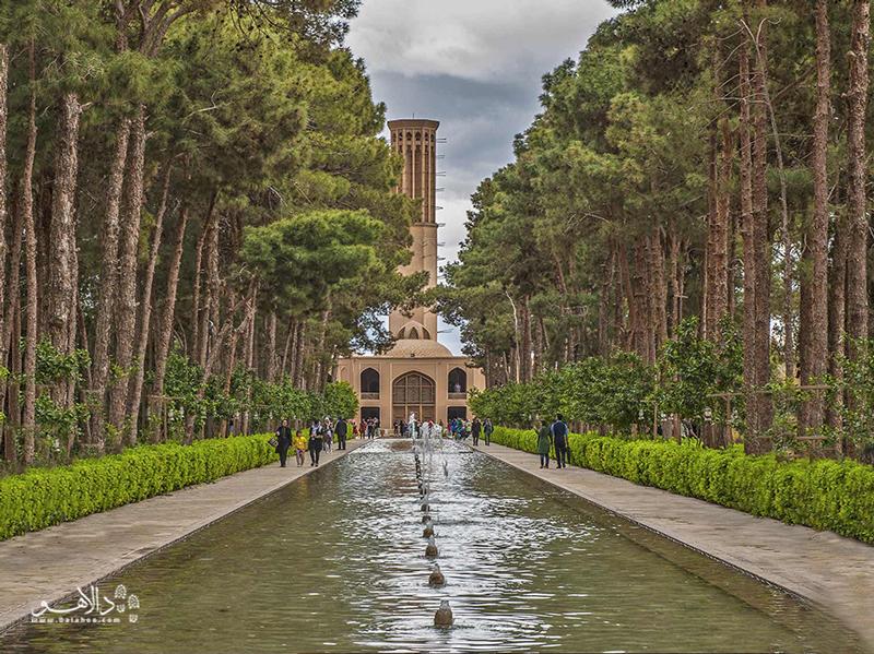 باغ دولت آباد یکی از 9 باغ ایرانی در فهرست میراث جهانی یونسکو است.