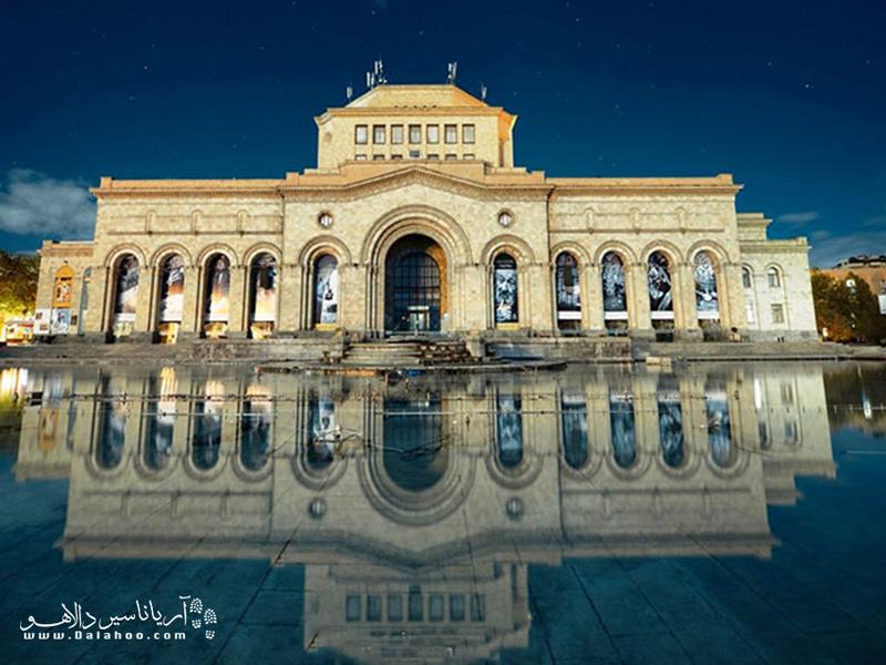 توصیف موزه تاریخ ارمنستان با کلمات کار آسانی نیست؛ باید از نزدیک آن را تماشا کرد.