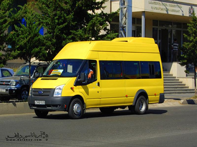 مارشروتکا، یکی از وسیلههای نقلیه در ارمنستان.