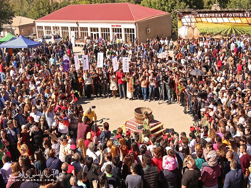 فستیوالهای برداشت محصول ارمنستان.