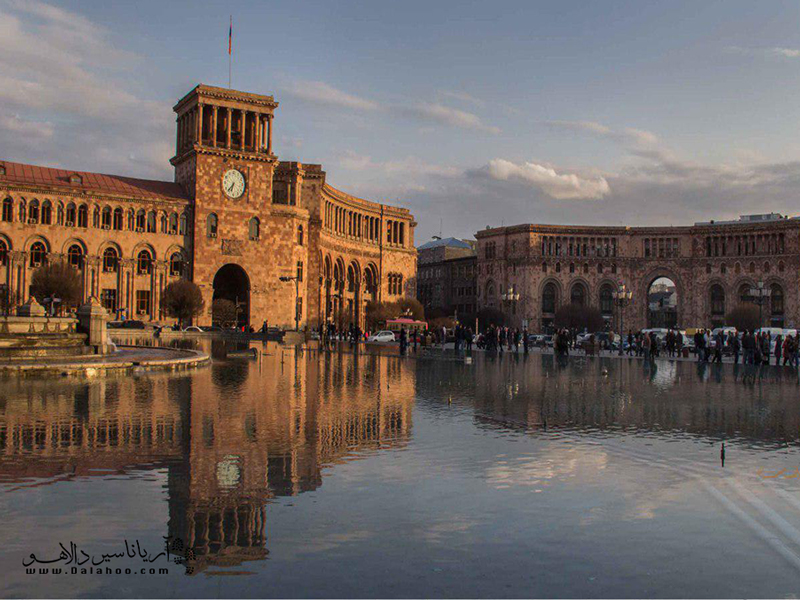 سفری زمینی به سوی ارمنستان.
