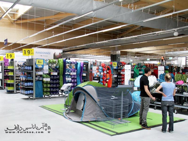 دکاتلون فروشگاهی کامل برای خرید تجهیزات سفر و کمپینگ است.