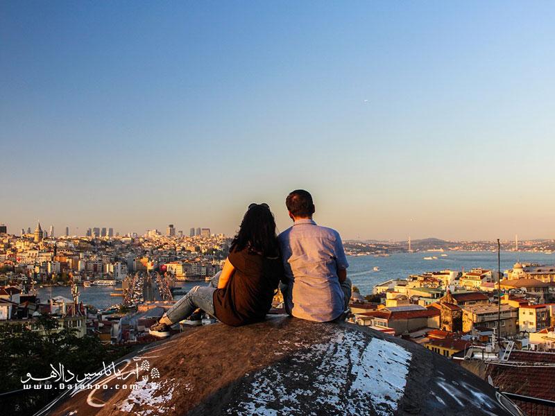 اقامت ترکیه از طریق ازدواج.