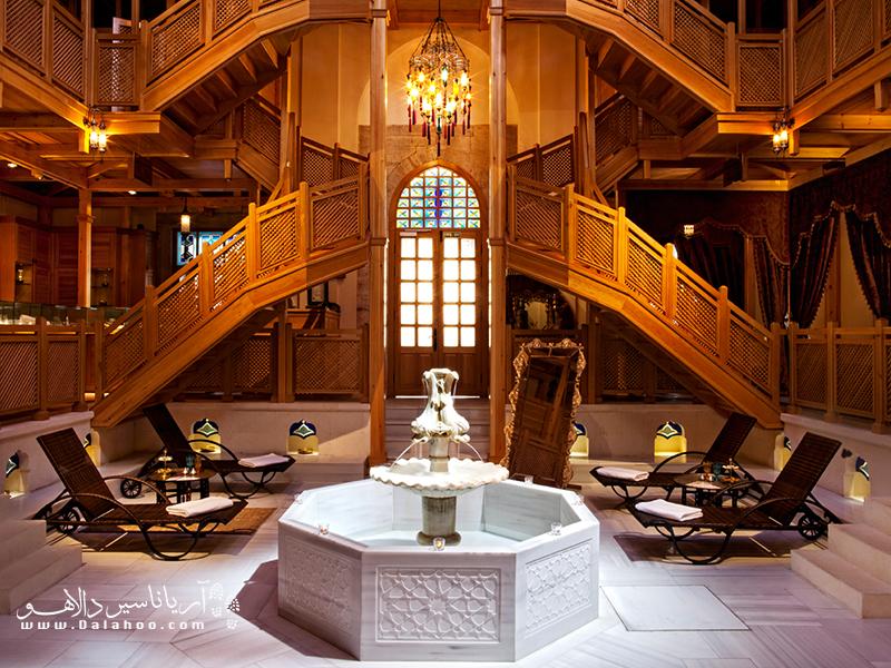 حمامهای عثمانی ترکی پر از آرامش هستند.