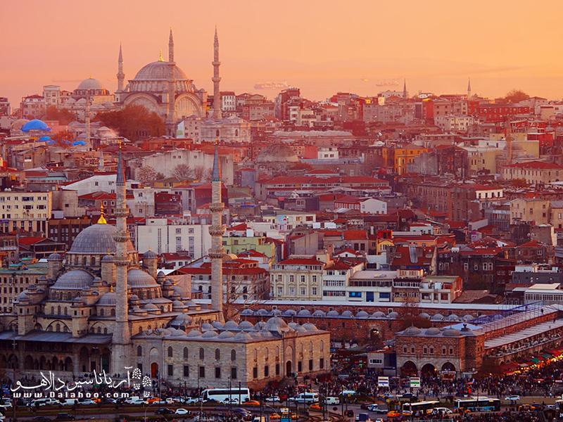 شهرهای ترکیه پر از تاریخ و داستان هستند.