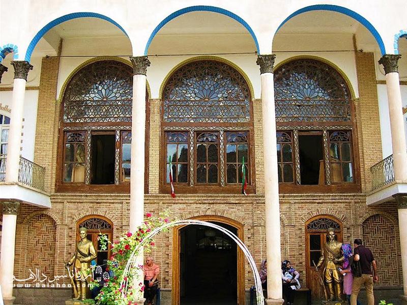 خانه مشروطه تبریز در میان خانههای تاریخی تبریز شهرت بیشتری دارد.
