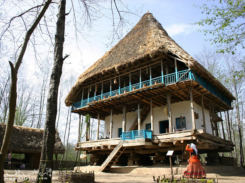 موزه میراث روستایی گیلان در در پارک جنگلی سروان رشت است.