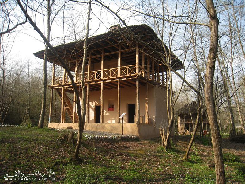 موزه میراث روستایی گیلان دارای بناهایی با قدمت حدود 150 سال است.