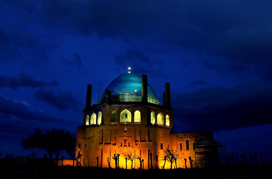 گنبد سلطانیه بیشک یکی از مشهورترین آثار جهان است.