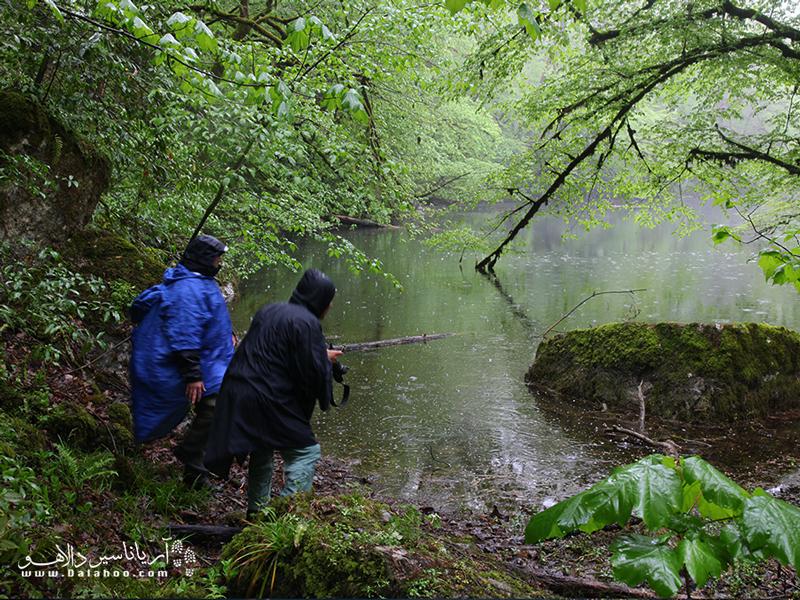یکی از پیشنهادات لباس در روزهای بارانی پانچو است.