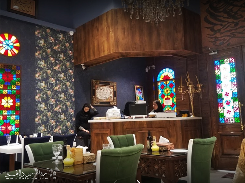 رستوران شمس قزوین