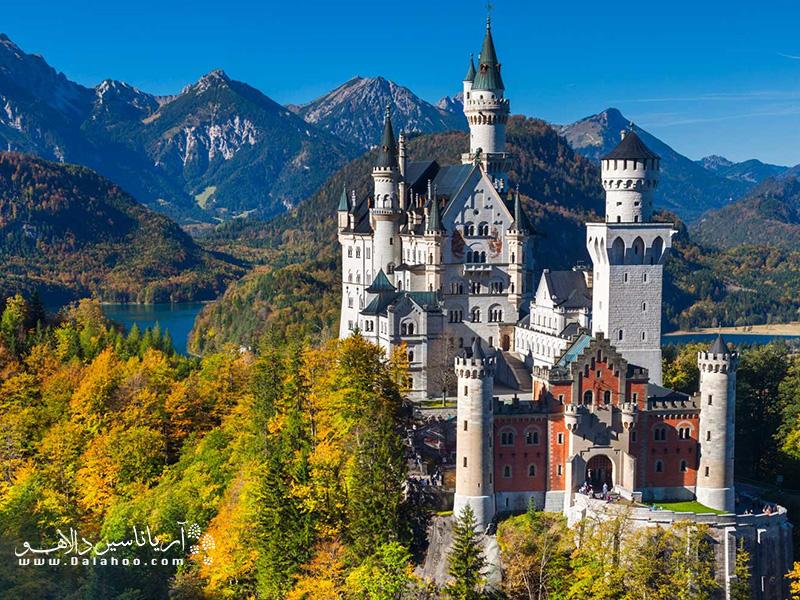 شهر کوچک باواریا در آلمان، یکی از زیباترین شهرهای جهان است.