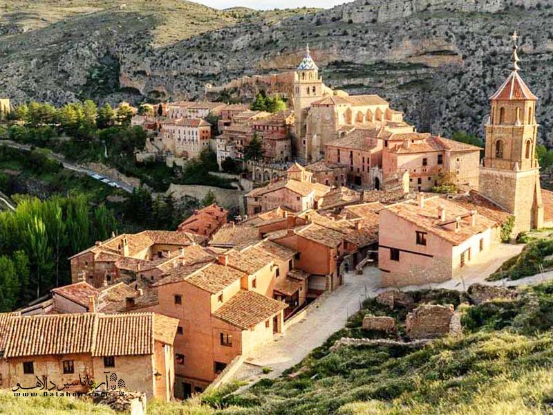البراسین در در شمال اسپانیا قرار دارد.