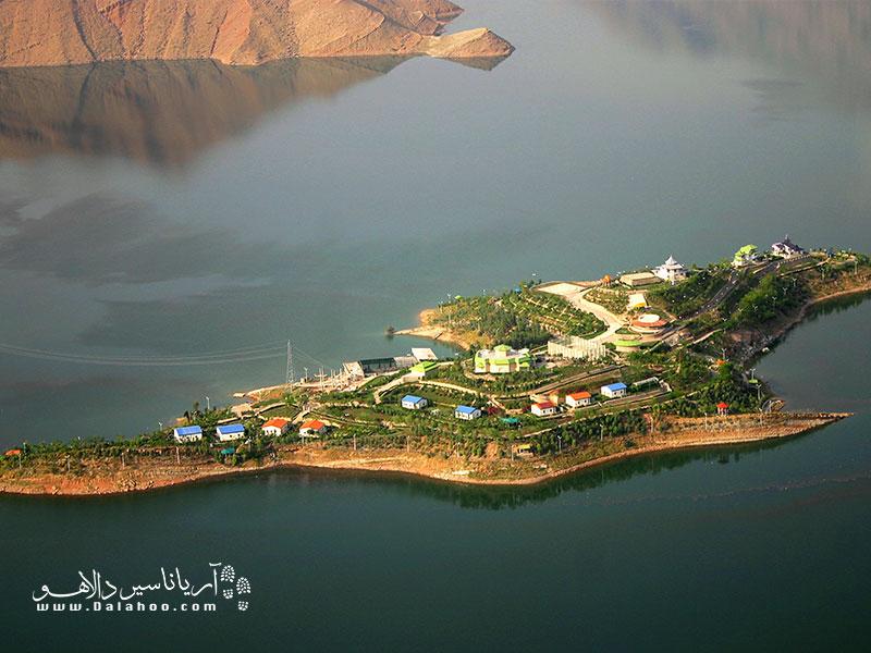جزیره زیبای کوشک از توابع شهرستان اندیکا.