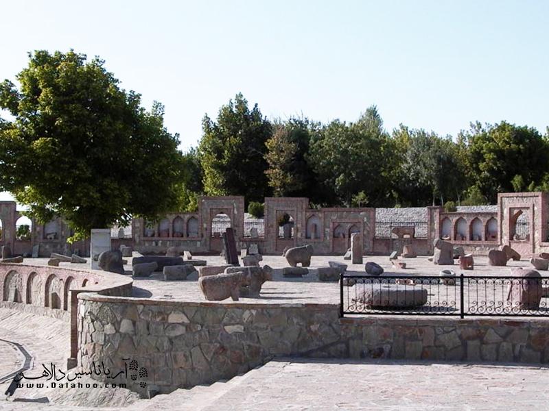 موزه قوچهای سنگی نخجوان.