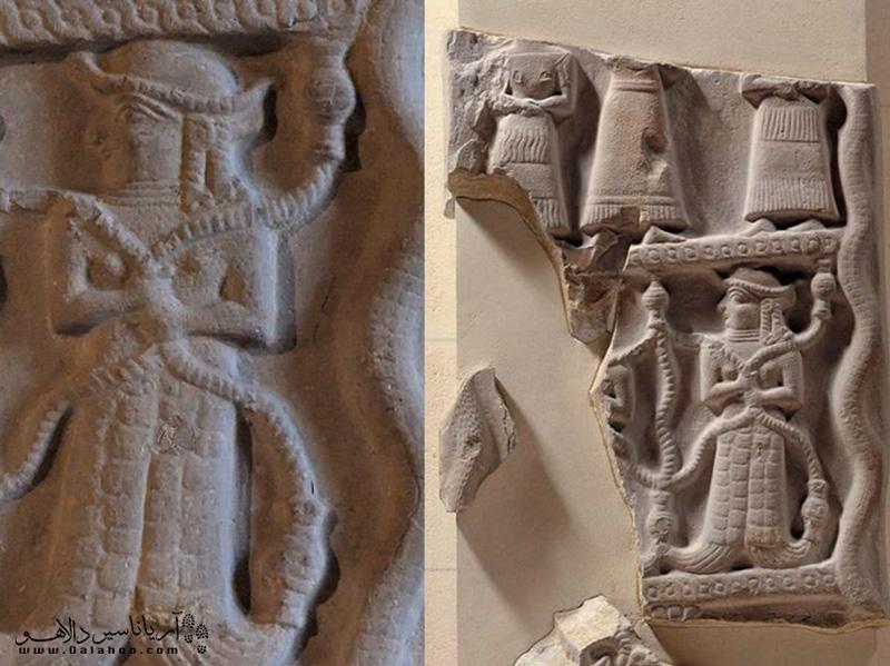 سنگ نگاره اونتاش گال در موزه لوور قرار دارد.