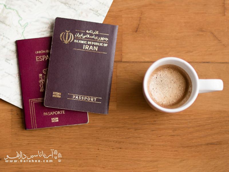 گذرنامه در واقع سند مجوز خروج شهروندان از کشورشان است.