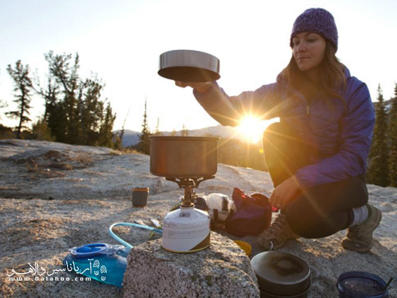 تجربه آشپزی در طبیعت لذت بخش خواهد بود.