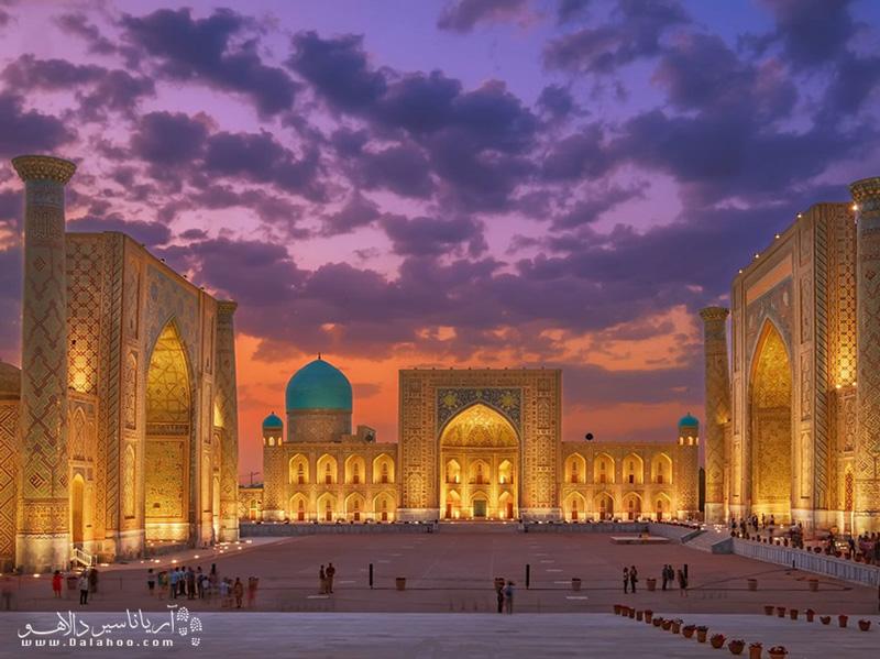 برای دیدن جاذبههای ازبکستان  نیاز به دریافت ویزای توریستی دارید.