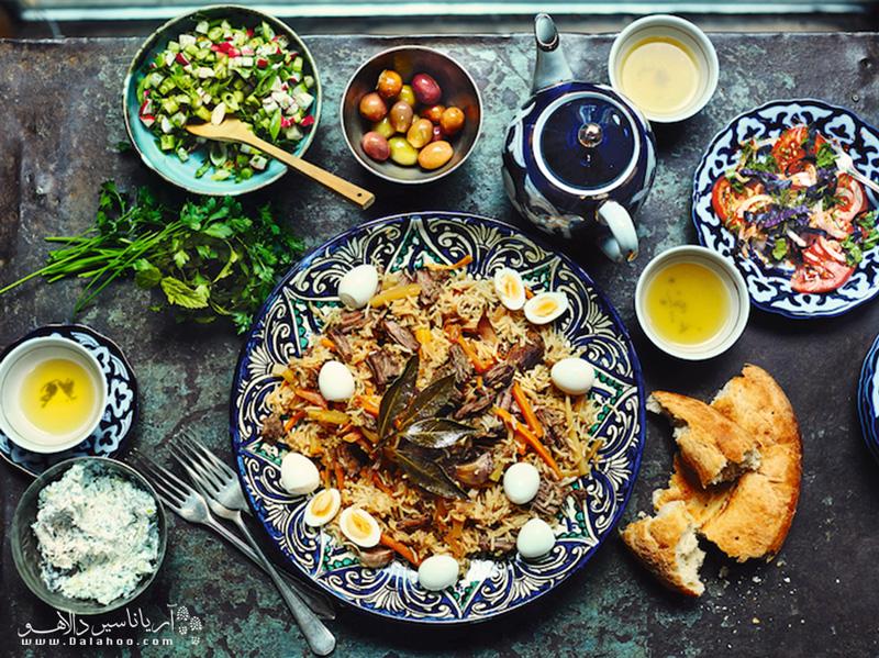 غذای خوشمزه ازبکستان