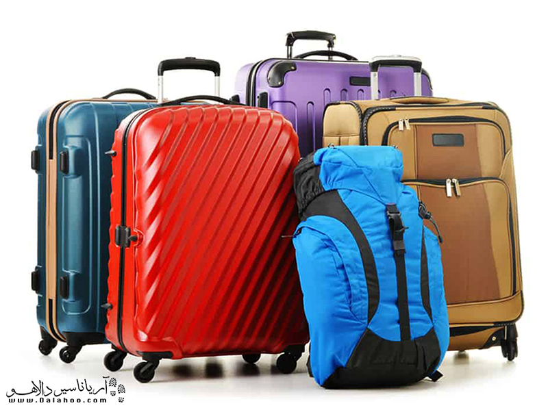 انتخاب چمدان یا کوله باید متناسب با سبک سفرتان باشد.