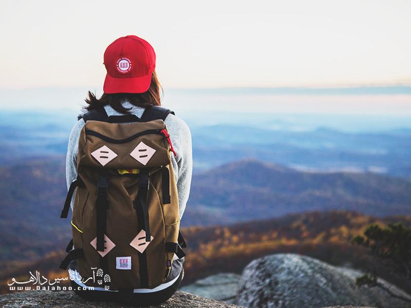 شما در سفر یاد میگیرید که در لحظه زندگی کنید.