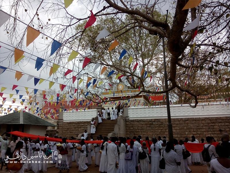 در معابد کوچک و بزرگ سریلانکا میتوان بیش از 200 سال میراث مذهبی دید.