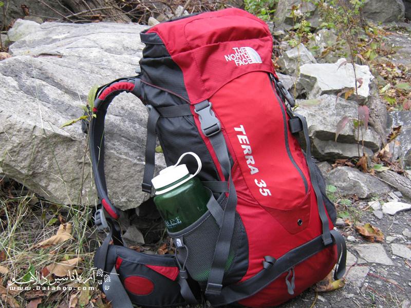 نمونه یک کوله 35 لیتری برای سفر یک تا سه روزه.