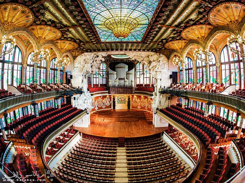 برای حضور در قصر زیبای کاتالان به ویزای اسپانیا نیاز دارید.