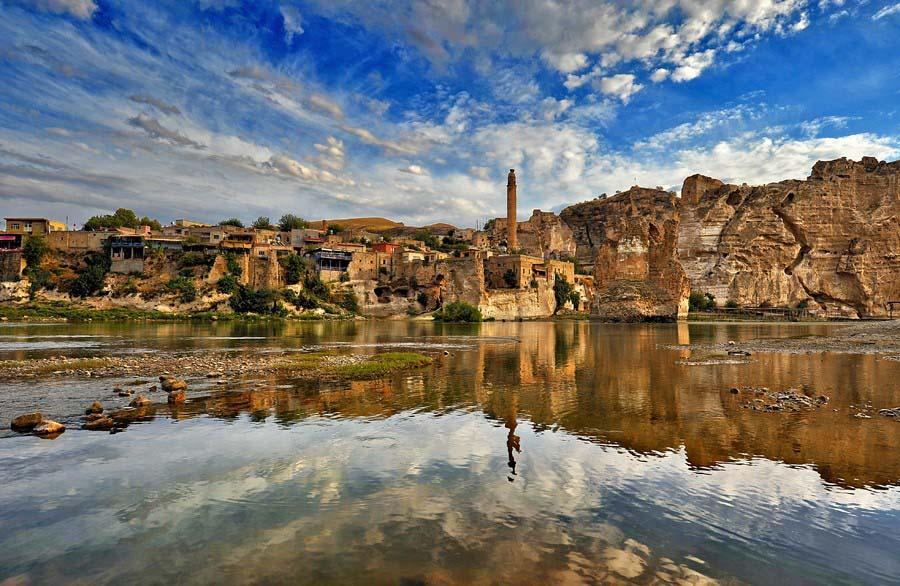 روستای حسن کیف ترکیه