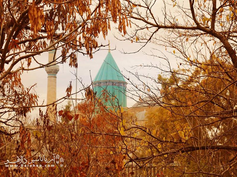 پاییز قونیه فصل زیبایی برای سفر قونیه است.