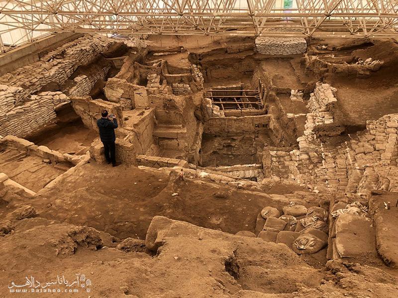 چاتال هویوک یکی از مهمترین سایتهای باستان شناسی در جهاناست.