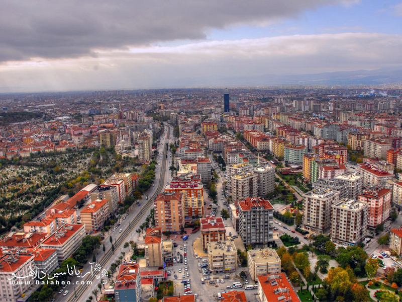 قونیه مرکز استان قونیه در کشور ترکیه است.