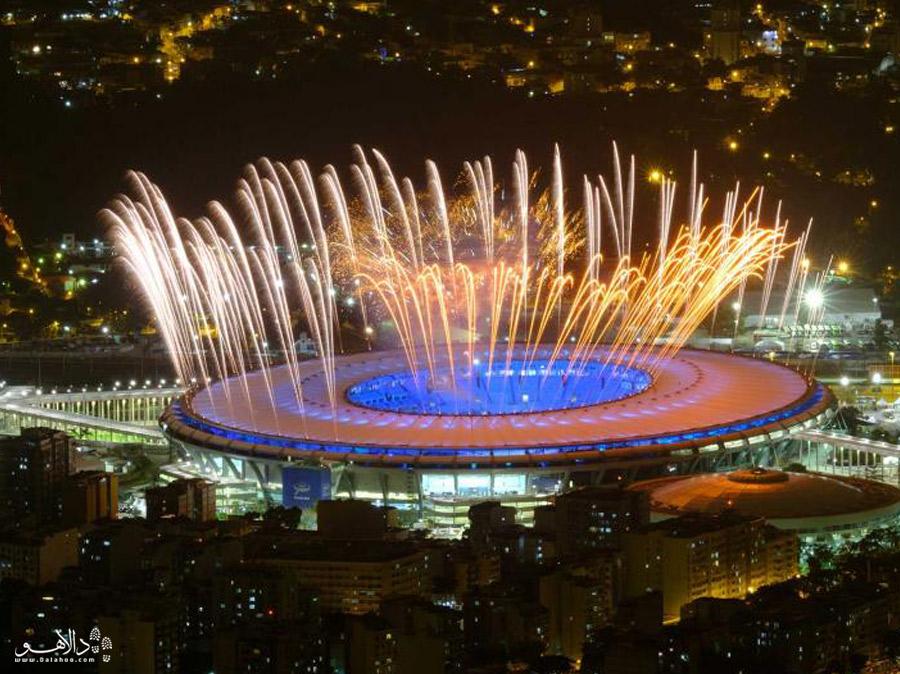 استادیوم ماراکانا در المپیک ریو 2016 هم میزبان برگزاری مراسم بود.