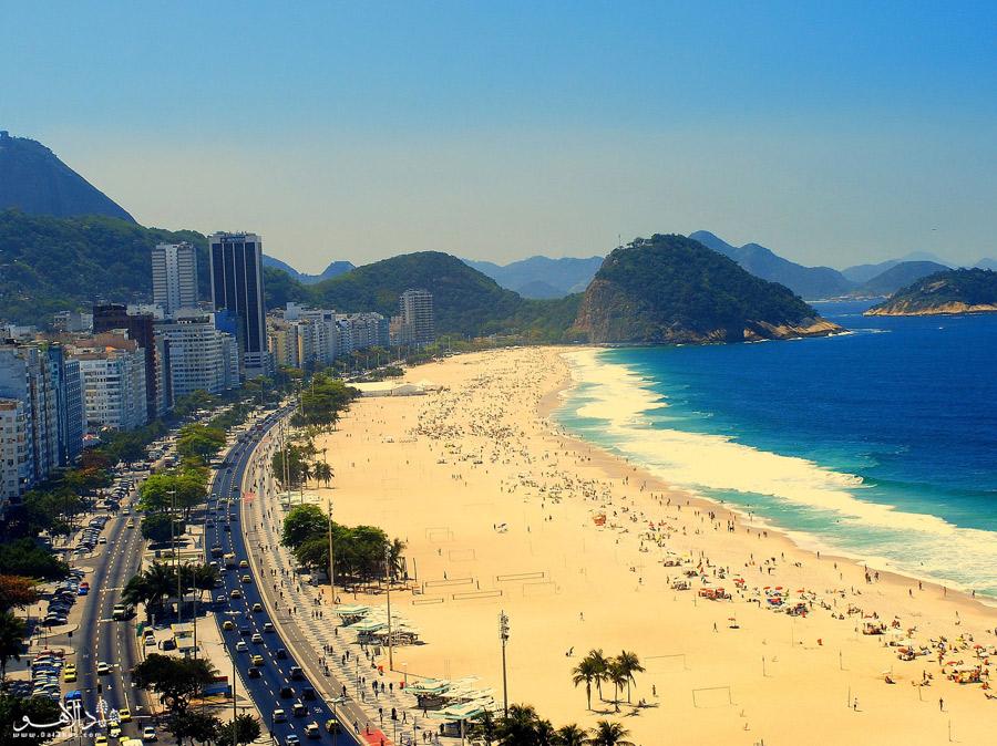 منطقه 9 ساحل ایپانما جایی برای حمام آفتاب گرفتن و لذت بردن از هوای دلپذیر است.