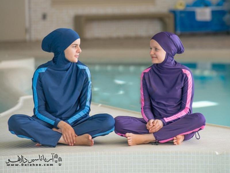 نمونه مایو اسلامی زنانه.