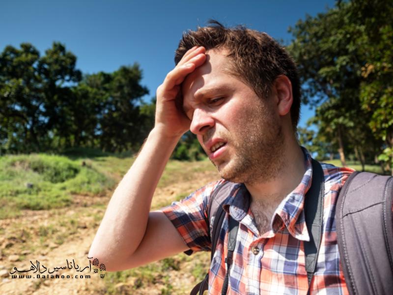 گرمای شدید موجب تغییرات بیوشیمی منفی در بدن خواهد شد.