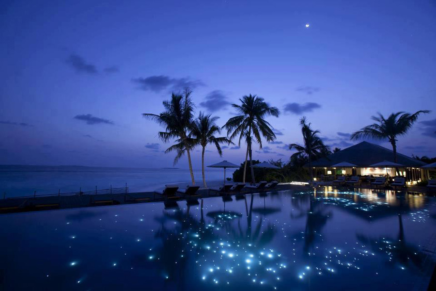 مالدیو در شب