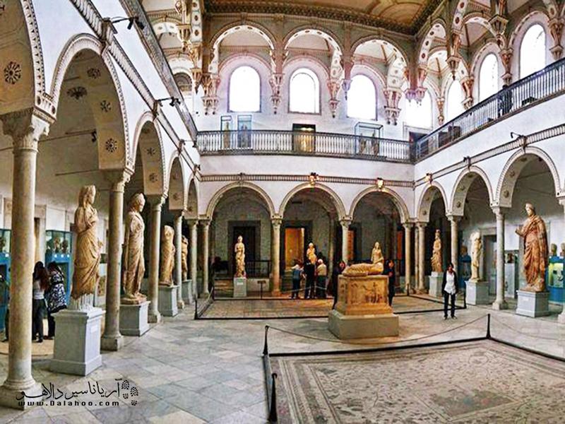 باردو پرطرفدارترین موزه تونس است.