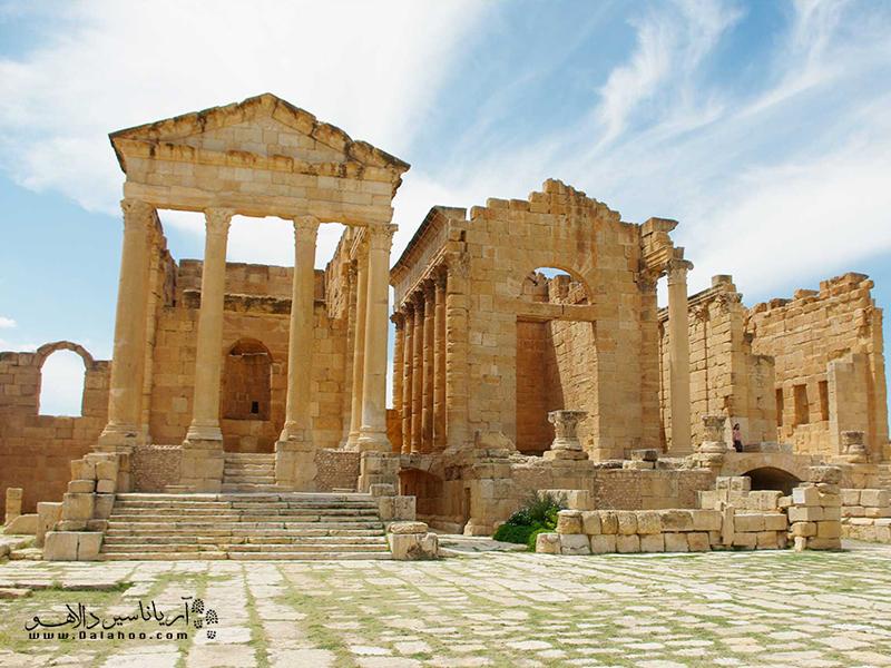 کارتاژ منطقه تاریخی و معروف تونس