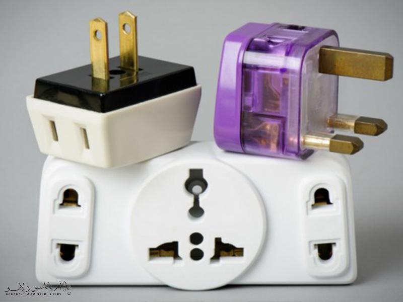 اطلاعاتی در مورد ولتاژ برق در کشور مقصد و همینطور سیستم پریز برق مقصد کسب کنید.