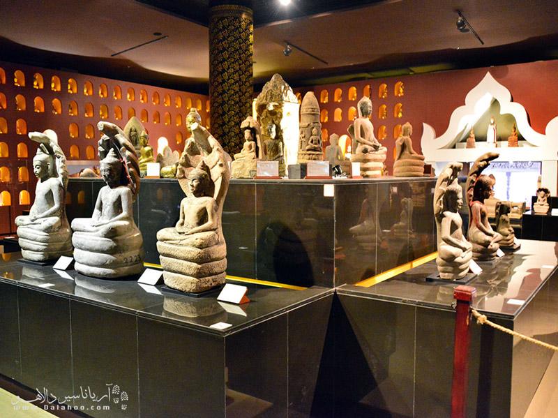 مجسمههای موزه ملی کامبوج