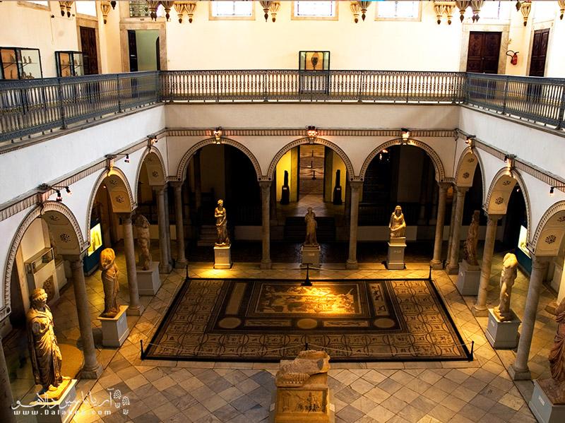 باردو یکی از دیدنیهای شهر تونس و پرطرفدارترین موزه این کشور است.