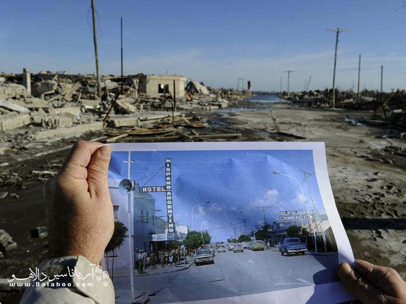 «اپکوئن» شهری است که به علت چشمههای معدنی و شور در جهان معروف بود که به علت ریزش بارانهای سنگین در نوامبر 1985 طی بیست روز به عمق ده متر در زیر آب مدفون شد.