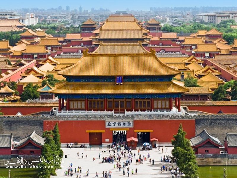 بزرگترین مجموعه کاخ جهان در کشور چین.