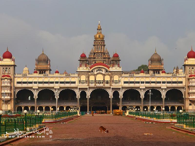 کاخ میسور هند بسیار دیدنی است.